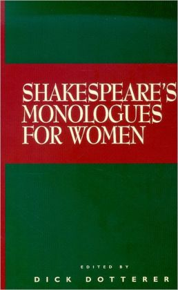 Shakespeare's Monologues for Women