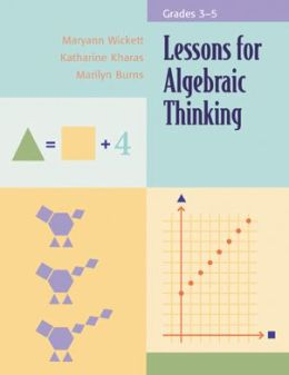 Lessons for Algebraic Thinking (Grades 3-5)