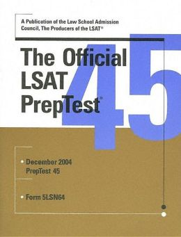 Official LSAT Preptest 45