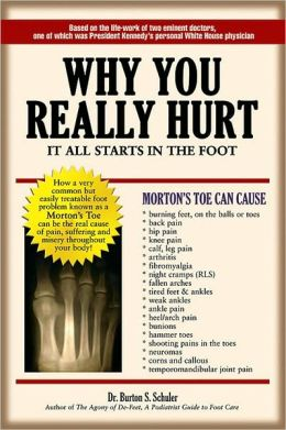 Why You Really Hurt, It All Starts in the Foot: It all starts in the Foot