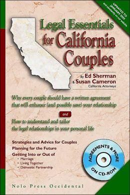 Legal Essentials for California Couples