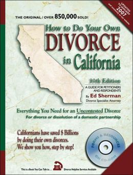 How to Do Your Own Divorce in California: Everything You Need for an Uncontested Divorce