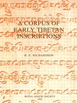 Corpus of Early Tibetan Inscriptions