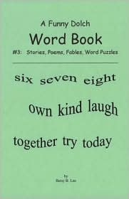 A Funny Dolch Word Book #3: Stories, Fables, Word Search Puzzles
