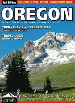 Oregon Road Map and Travel Guide
