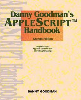 Danny Goodman's AppleScript Handbook