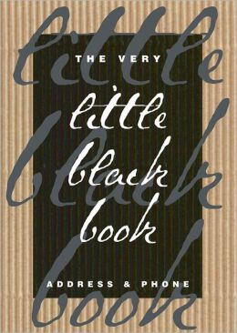 The Very Little Black Book: Address & Phone