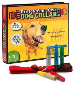 Design Your Own Dog Collar Kit (Glitter Version, L/XL Collar Size)
