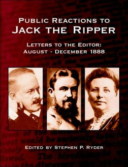 Public Reactions To Jack The Ripper