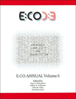 Emergence, Complexity and Organization: E:CO Annual