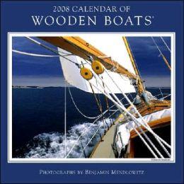 2008 Wooden Boats Wall Calendar