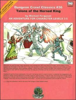 Dungeon Crawl Classics #36: Talons of the Horned King