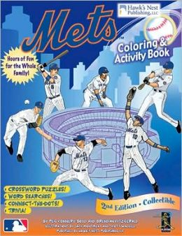 Mets Coloring and Activity Book