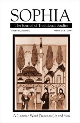 Sophia: The Journal of Traditional Studies-Volume 14, Number 2