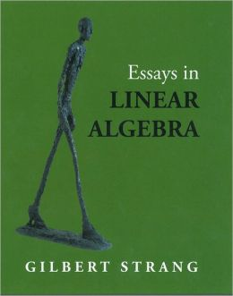 essays on linear algebra