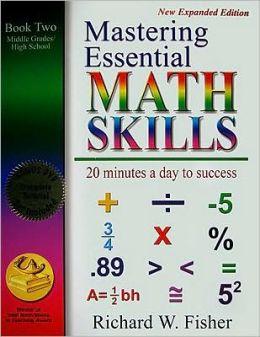 Mastering Essential Math Skills, Book 2: Middle Grades/High School