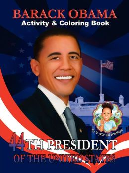 Barack Obama Activity & Coloring Book