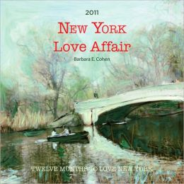 2011 New York Love Affair Wall Calendar