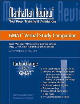 Verbal Study Companion: Turbocharge Your GMAT