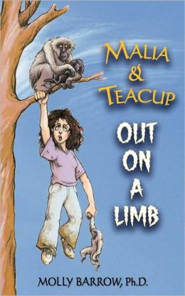 Malia and Teacup Out on a Limb