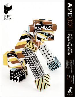 Ape001: Build Your Own Paper Toy Gorilla