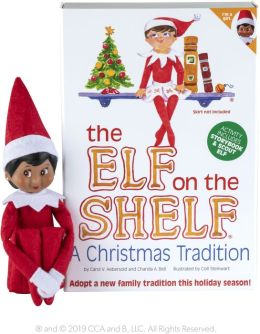 The Elf on the Shelf (Dark Skinned - Girl)