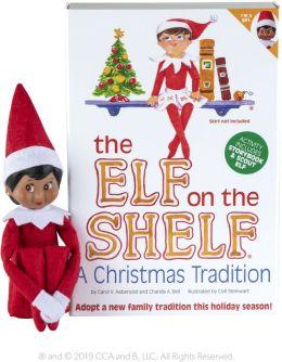 The Elf on the Shelf (Dark Skinned - Girl)
