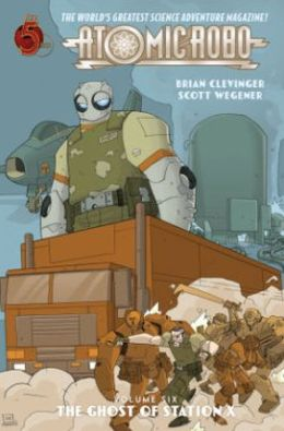 Atomic Robo, Volume 6: Ghost of Station X