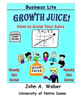 Growth Juice: How to Grow Your Sales
