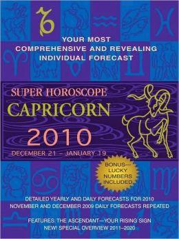 Capricorn (Super Horoscopes 2010)