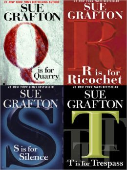 Q Is for Quarry, R Is for Ricochet, S Is for Silence, T Is for Trespass