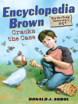 Encyclopedia Brown Cracks the Case (Encyclopedia Brown Series #24)