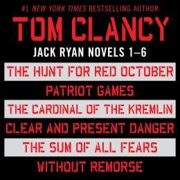 Tom clancy s jack ryan books 1 6 by tom clancy 9781101496961 nook