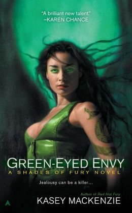 Green-Eyed Envy (Shades of Fury Series #2)
