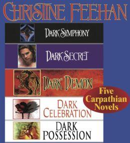 Christine Feehan 5 Carpathian novels (Dark Series)
