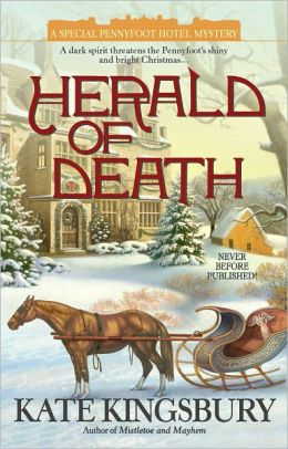 Herald of Death (Pennyfoot Hotel Mystery Series #19)