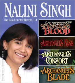 Nalini Singh: Guild Hunters Novels 1-4