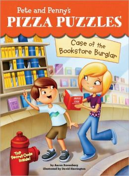 Case of the Bookstore Burglar (Pete and Penny's Pizza Puzzles Series #3)