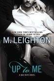 Book Cover Image. Title: Up to Me, Author: M. Leighton