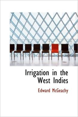 Irrigation In The West Indies
