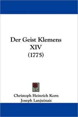 Der Geist Klemens Xiv (1775)