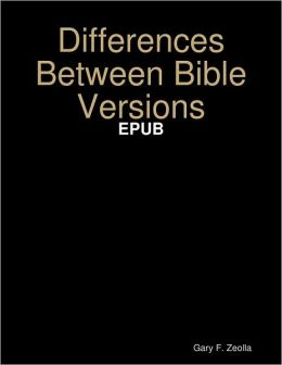 Differences Between Bible Versions: EPUB