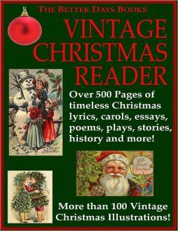 The Better Days Books Vintage Christmas Reader
