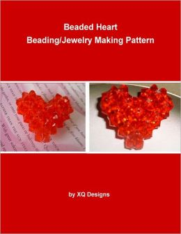 Beaded Heart Beading/Jewelry Making Pattern