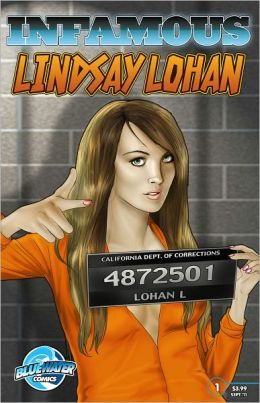 INFAMOUS: Lindsay Lohan (NOOK Comics with Zoom View)