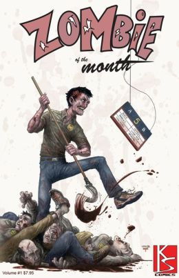Zombie of the Month GN (NOOK Comics with Zoom View)