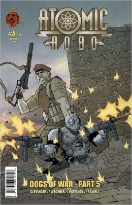 Atomic Robo: Dogs of War #5 (NOOK Comics with Zoom View)