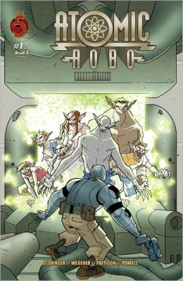 Atomic Robo, Volume 4: Atomic Robo and Other Strangeness #1 (NOOK Comics with Zoom View)