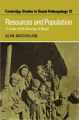 Resources and Population: A Study of the Gurungs of Nepal