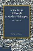 Book Cover Image. Title: Some Turns of Thought in Modern Philosophy:  Five Essays, Author: George Santayana